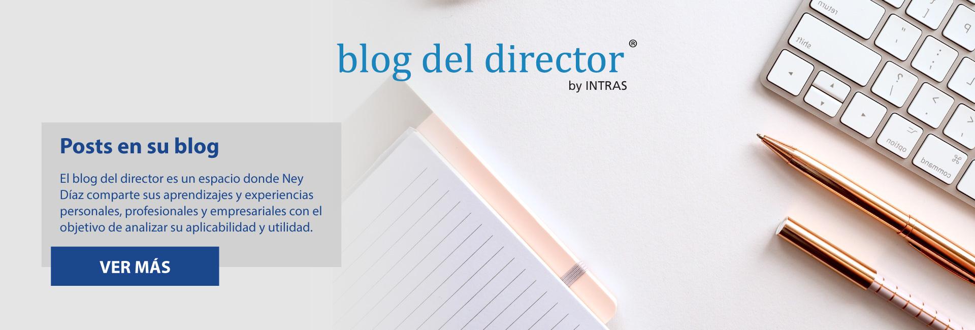 El blog de Ney Diaz con ideas, herramientas y reflexiones que le aportarán a su desarrollo personal y profesional.